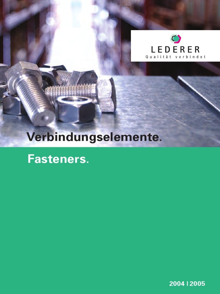 Sicherungsmuttern DIN 985 mit LINKSGEWINDE Edelstahl A2 M5 bis M10 LINKS