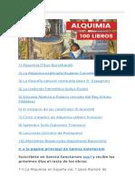 100 Libros de Alquimia - Sancta Sanctorum