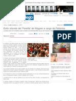 Santiago | Éxito rotundo del 'Parsifal' de Wagner a cargo de Petrenko | El Correo Gallego - Diario de la Capital de Galicia