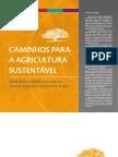 Caminhos Para a Agricultura Sustentável_princípios Conservacionistas Para o Pequeno Produtor Rural - MMA