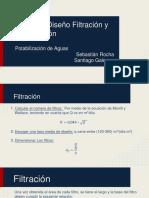 Filtración y Desinfección