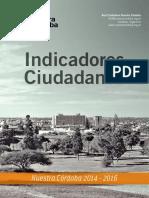 Indicadores Ciudadanos 2015 2016
