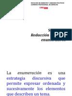 Sesion11_Redaccion de Textos Enumerativos
