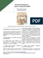 2002-Questions & Réponses Vatican II, Le Pape Et La FSSPX