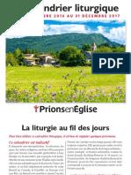 Calendrier Liturgique 2017 GF PourInternet