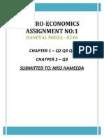 Eco Assignment