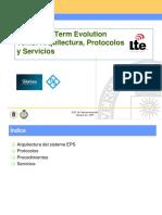 Lte Arquitectura, Protocolos y Servicios