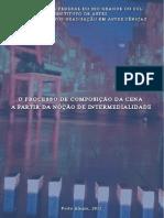 TESE O Processo de Composição Da Cena a Partir Da Noção de Intermedialidade Final