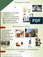 Reforzamiento Positivo Contrato y Economia de Fichas