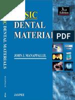 Basic Dental Materials 3rd