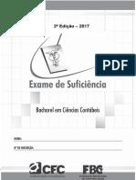 CRC 2017.2 - Prova