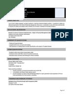 SAP - Sample Resume