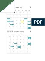 Calendario Catolica