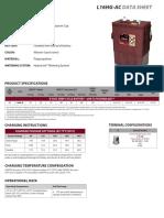 L16HGAC Trojan Data Sheets