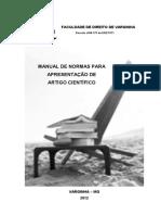 Manual - Pesquisa Científica