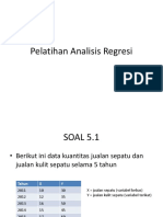 Pelatihan Analisis Regresi