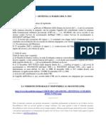 Fisco e Diritto - Corte Di Cassazione n 5913 2010