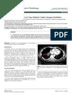 Diagnosis of Pericardial Cyst Using Multiple Cardiac Imaging Modalities 2167 7964 1000208
