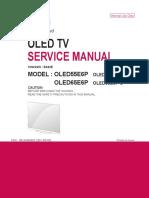 Manual Servico TV LG OLED55E6P Chassis EA62E