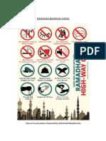 Ramadan Highway Codes