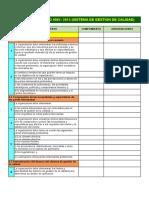 Checklist Iso 9001-2015