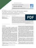 Dry Sliding Wear Behavior of SiC &Al2O3 Filled Jute;Epoxy Composites