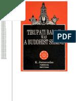 Tirupati a buddhist srine.pdf