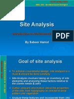 Site Analysis Example (1)