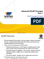 BTS(FS-TMT) DWH - UCF 2.x Advanced OLAP Concepts v1.0 - Part 1.ppt