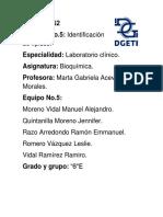 Identificacion de Lipidos (Informe de Laboratorio)