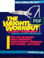 The Weightless Workout by Jerry Robinson