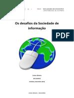 Os Desafios Da Sociedade de Informação - Universidade de Coimbra