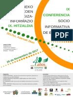 CARTEL   IX CONFERENCIA SOCIO INFORMATIVA 2017.pdf