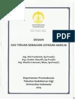 Diktat GTSL (Desain GTSL Akrilik)