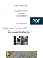Digital Image Processing - 1