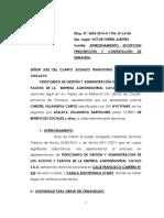 Atalaya Villanueva-contestacion Demanda '2015