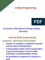 vehicle body engineering