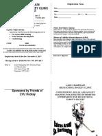 Hockey - Warm-up clinic 2017  brochure - Instructor.doc