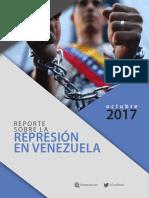 Informe Represion Octubre 2017