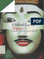 Clifford Geertz - Negara. El Estado-teatro en El Bali Del Siglo XIX