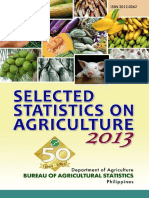 Selected Statistics on Agriculture 2013