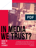 In Media We Trust Guide