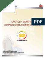 REFORMA LOAFSP (ONCOP) Sistema de Contabilidad Pública 23042015 FCCPV (Bcv) (1)