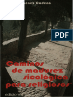 Caminos de Madurez Psicologica Para Reigiosos Libro