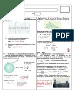 Ejercicios de Funciones Trigonometricas