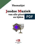 Themalijst Joodse Muziek