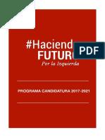 Proyecto Haciendo Futuro Puerto Real PSOE