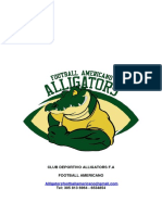 Rpoyecto Alligator Para La Universidad