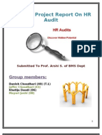 Sample HR Audit Checklist | Family And Medical Leave Act Of 1993 | Audit