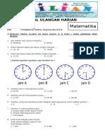 Soal Matematika Kelas 2 SD Bab 4 Pengkuran Waktu, Panjang Dan Berat Dan Kunci Jawaban (Www.bimbelbrilian.com)